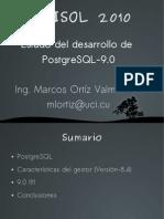 Estado Del Desarrollo de PostgreSQL