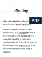 Coin Collecting - Wikipedia (1)