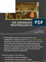 the emergence of Westphalian system