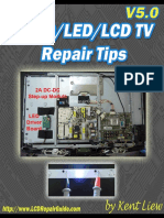 Collection of OLED LCD LED TV Repair Tips V5.0 - Kent Liew.pdf