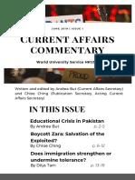 WUSHKUSU 47th cabinet 1st newsletter