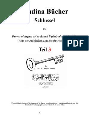 Hocharabisch Lehrbuch 3pdf
