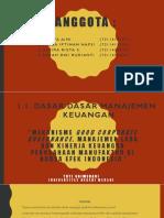 FIX Mekanisme Good Corporate Governance, Manajemen Laba Dan (2