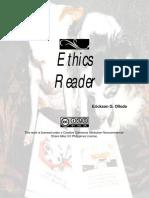 Ethics and Humanity