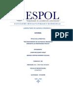 Informe 4. Reconocimiento de Sustancias Orgánicas Mediante Las Propiedades Fisicas (1)