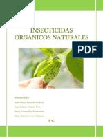 Insecticidas Organicos Naturales Informe de Investigacion de Mercado