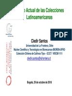 Estado actual de las colecciones Latinoamericanas_Cledir Santos_Bogotá 2....pdf