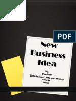 New Business Idea(EBOOK)