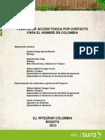 Plantas de acción toxica para Colombia
