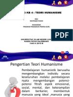 M3 KB 4 Humanisme-Mustaqim Hasan