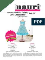 Girl Dress Pattern 13 04 by Minauri