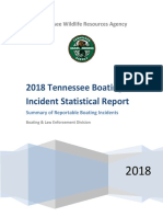 Tennessee Boating Incident Statistical Report