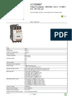 TeSys D Contactors_LC1D099B7