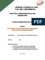 Las Penas - Clases