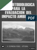 Copia de Guia Metodologica Para La Evaluacion Del Impacto Ambiental