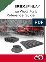Crusher Wearparts Reference Guide (No Sale El Giratorio, Solo Cono, Mandibulas e Impactors)