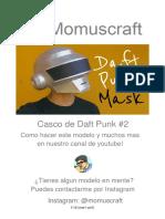 Máscara de Daft Punk #2
