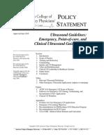 Ultrasound Policy 2016 Complete Updatedlinks 2018