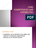 Core Competencies and Capabilities-2