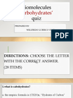 CARBOHYDRATES QUIZ ITEMS.pptx