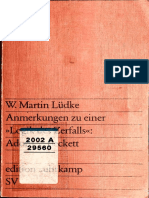 Werner Martin Lüdke - Anmerkungen Zu Einer _Logik Des Zerfalls__ Adorno-Beckett (0).pdf