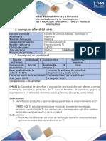 Guía de actividades y rúbrica de evaluación - Fase 3 - Redacta informe final del proyecto.pdf
