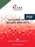 Las PyMEX en La Decada 2004-2013_julio 2014
