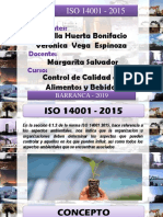 ISO 14001 - 2015