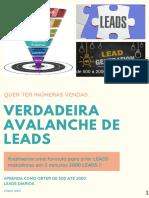 verdadeira avalanche de Leads