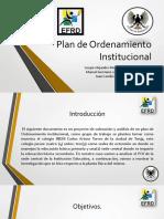 analisis de POI Istutución educativa INEM