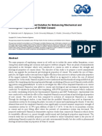 2018 - SPE-192031-MS - A Novel Nanosilica-Based Solution for Enhancing Mechanical and Rheological Properties of Oil Well Cement