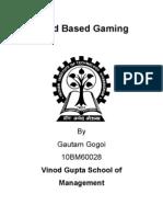 10BM60028- Cloud Based Gaming