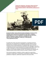 Chile Guerra Con Peru