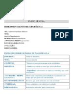 modelo plano aula
