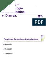Fisiopatología Gastrointestinal y Diarrea Aguda