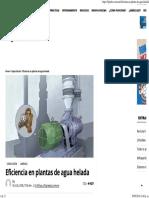 Eficiencia en Plantas de Agua Helada _ Revista Cero Grados