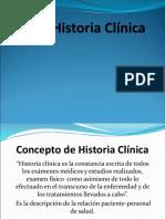 Historia Clinica Presentacion