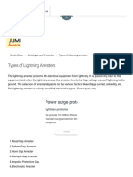 Types of Lightning Arresters - Circuit Globe