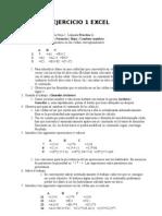 Ejercicio1 Excel