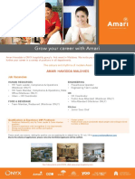 Amari Job Ad - July