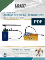 Bomba de pruebas hidrostaticas