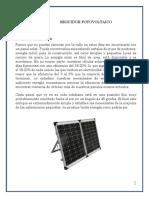 Seguidor de Fotovoltaico