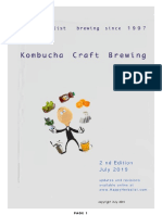 Kombucha Craft Brewing July 2019