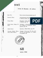 PIANA 1962, Accomunamento, Storicità, Tradizione Nello Husserl Inedito