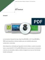 Termostatos de Bajo Voltaje _ Climatización y Refrigeración - ACR Latinoamérica