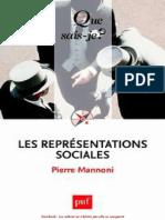 LES REPRESENTATIONS SOCIALES. Pierre Mannoni..pdf