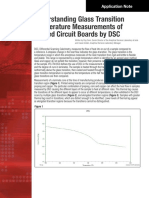 Understanding Glass Transition Temperature Measurements of Printed Circuit Boards by DSC