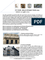 Programma Milano - ART NOUVEAU WEEK 2019