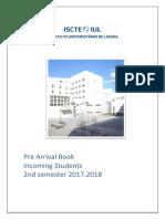 ISCTE booklet for erasmus students