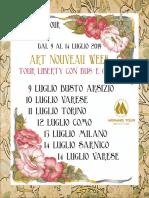 Programma Morandi Tour - ART NOUVEAU WEEK 2019